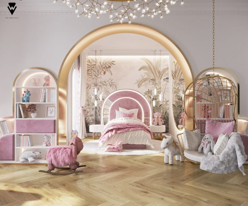 luxury girls room project Be Amazed By This Luxury Girls Room Project By We Wnętrzu Be Amazed By This Luxury Girls Room Project By We Wne  trzu e1623763070929