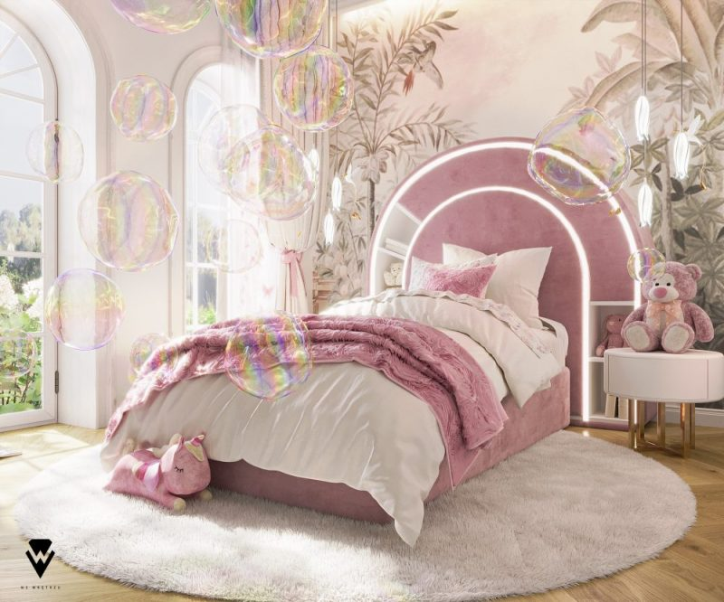 luxury girls room project Be Amazed By This Luxury Girls Room Project By We Wnętrzu Be Amazed By This Luxury Girls Room Project By We Wne  trzu2 e1623763319122