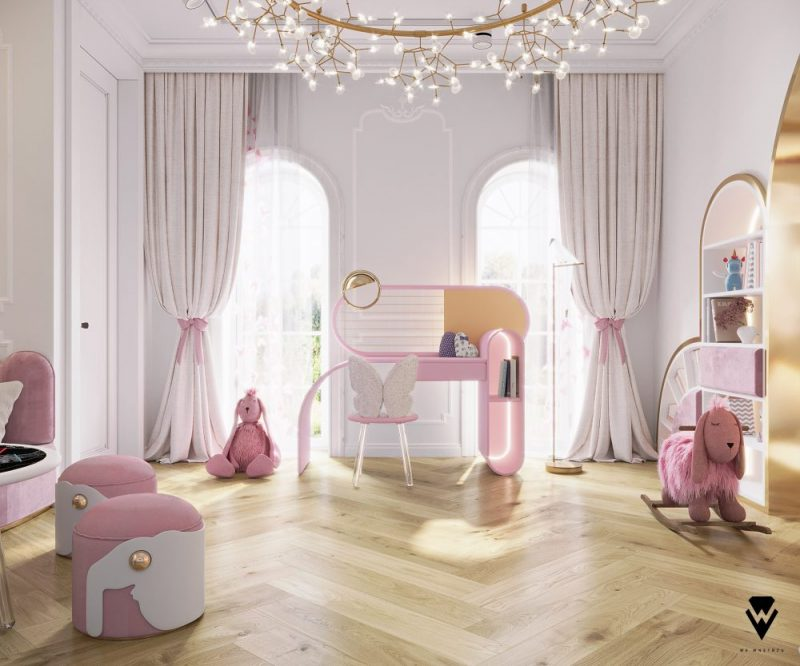 luxury girls room project Be Amazed By This Luxury Girls Room Project By We Wnętrzu Be Amazed By This Luxury Girls Room Project By We Wne  trzu3 e1623763352246