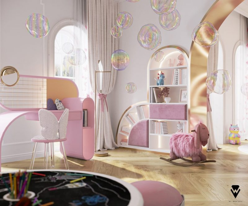 luxury girls room project Be Amazed By This Luxury Girls Room Project By We Wnętrzu Be Amazed By This Luxury Girls Room Project By We Wne  trzu4 e1623763373196