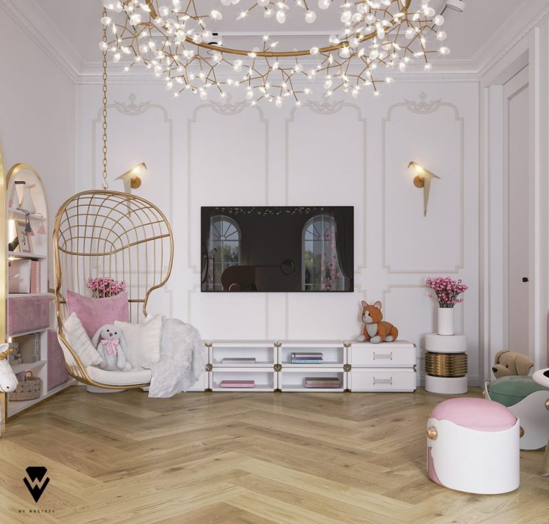 luxury girls room project Be Amazed By This Luxury Girls Room Project By We Wnętrzu Be Amazed By This Luxury Girls Room Project By We Wne  trzu6 e1623763457655