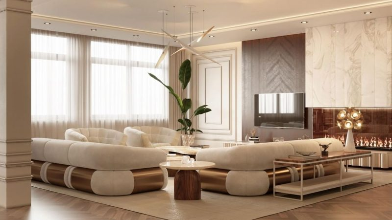 living room Be Inspired By The Most Stunning Living Room Settings! Be Inspired By The Most Stunning Living Room Settings 2 e1622556719109
