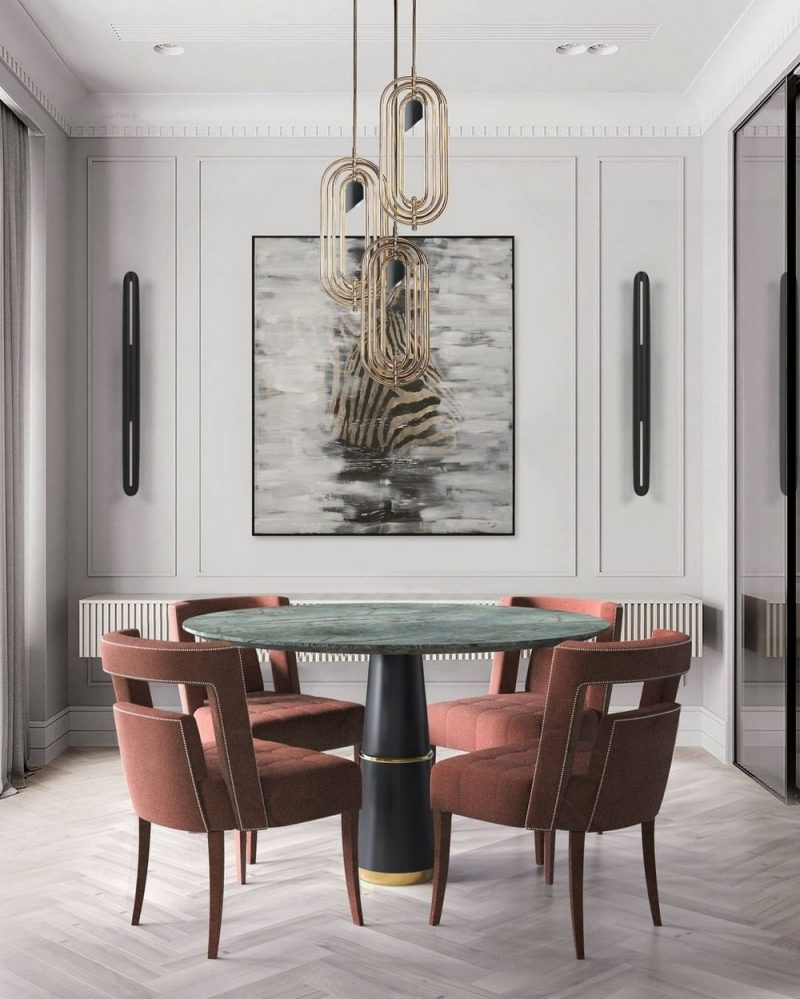 dining room Get The Dining Room Of Your Dream With These Settings! Get The Dining Room Of Your Dream With These Settings10 e1623421431478