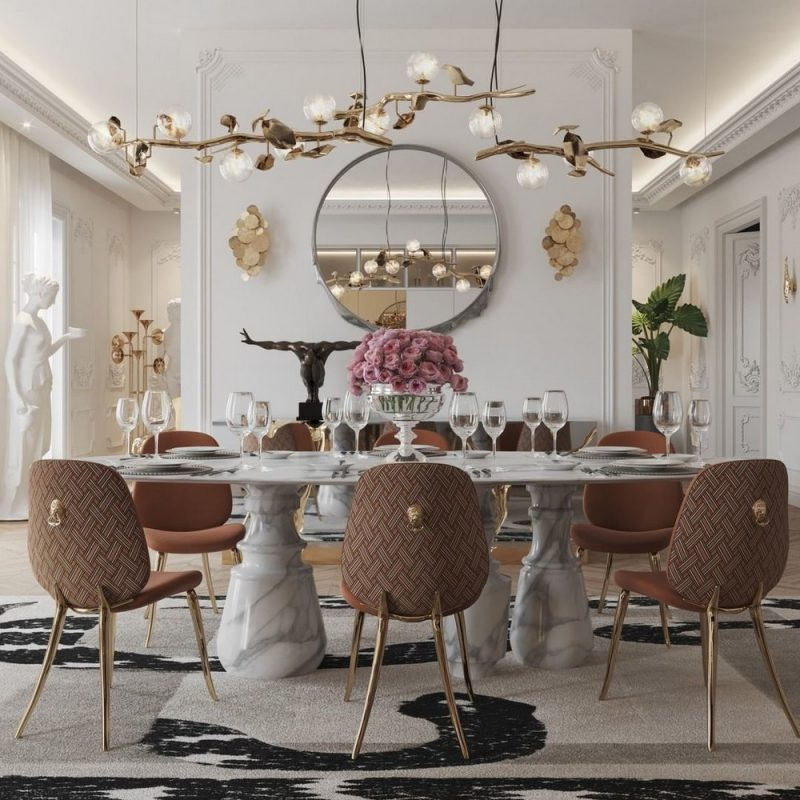 dining room Get The Dining Room Of Your Dream With These Settings! Get The Dining Room Of Your Dream With These Settings4 e1623421203781