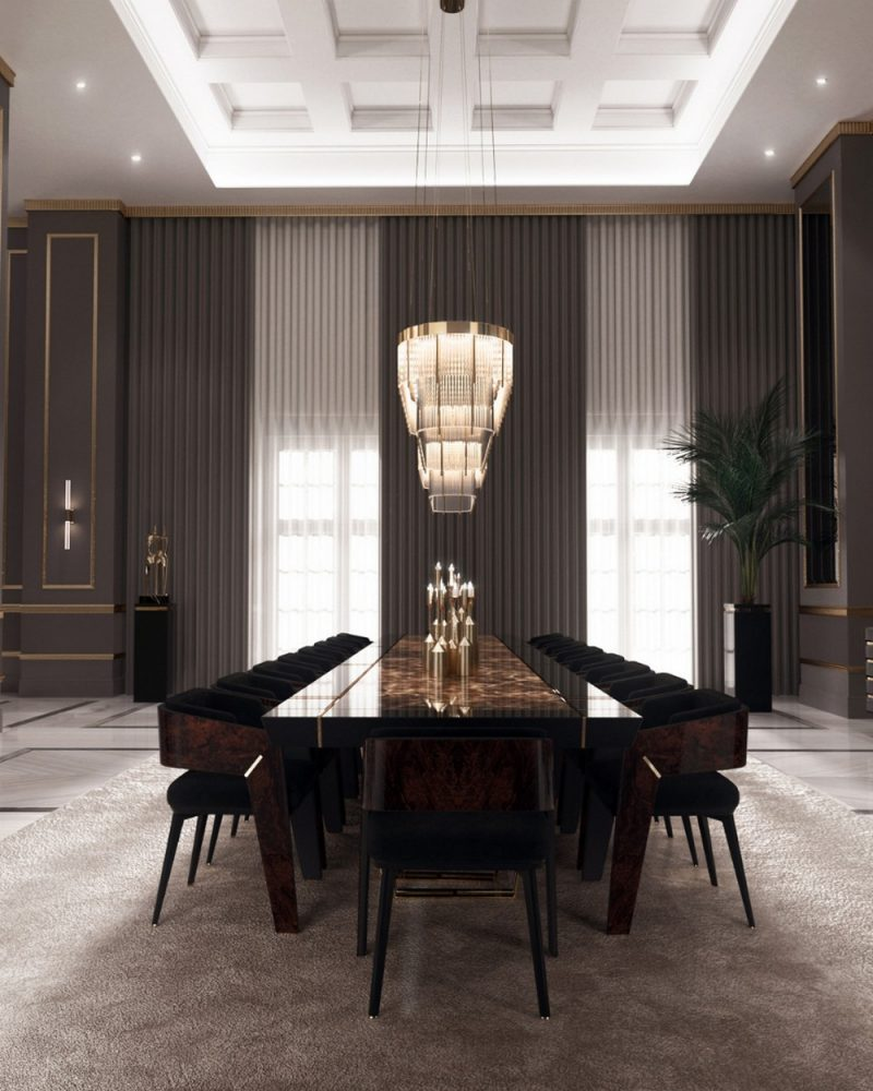 dining room Get The Dining Room Of Your Dream With These Settings! Get The Dining Room Of Your Dream With These Settings6 e1623421259392