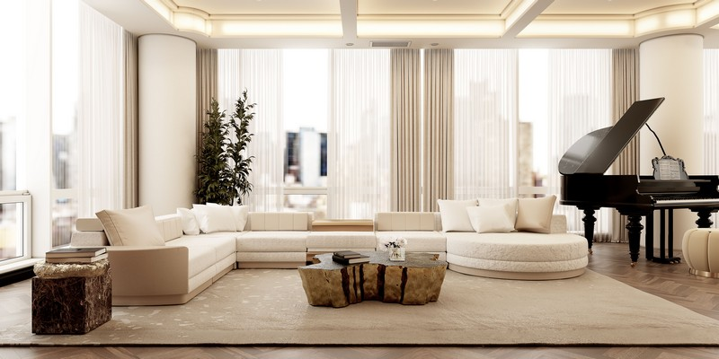 Luxury Interior Design In A Modern NYC Apartment! Luxury Interior Design In A Modern NYC Apartment2
