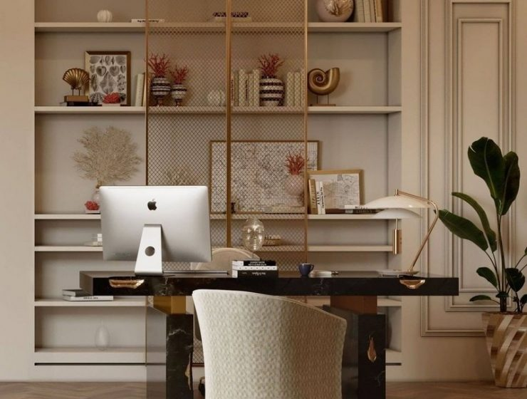 home office Revamp Your Home Office Through These Inspirations! Revamp Your Home Office Through These Inspirations1 740x560