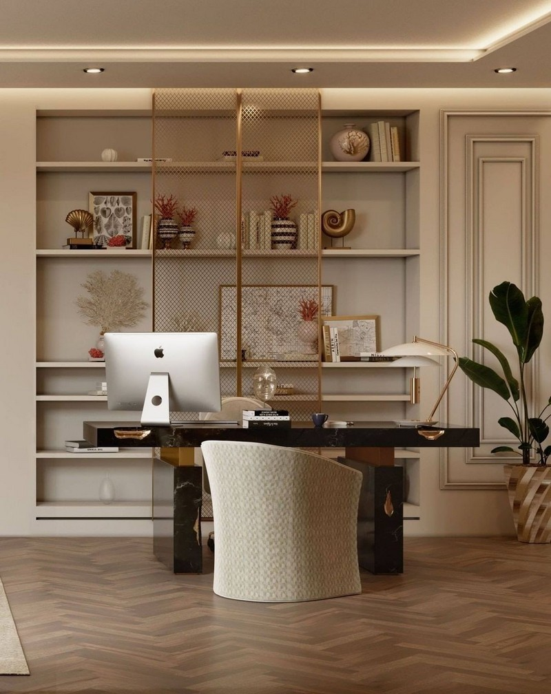 home office Revamp Your Home Office Through These Inspirations! Revamp Your Home Office Through These Inspirations1