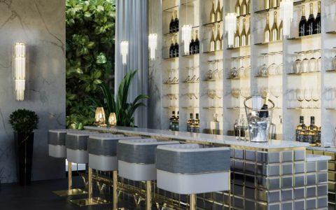bar design kitchen design Interior Design Inspirations: Dining Room and Kitchen Design Interior Design Inspirations Dining Room and Kitchen Trends 6 480x300