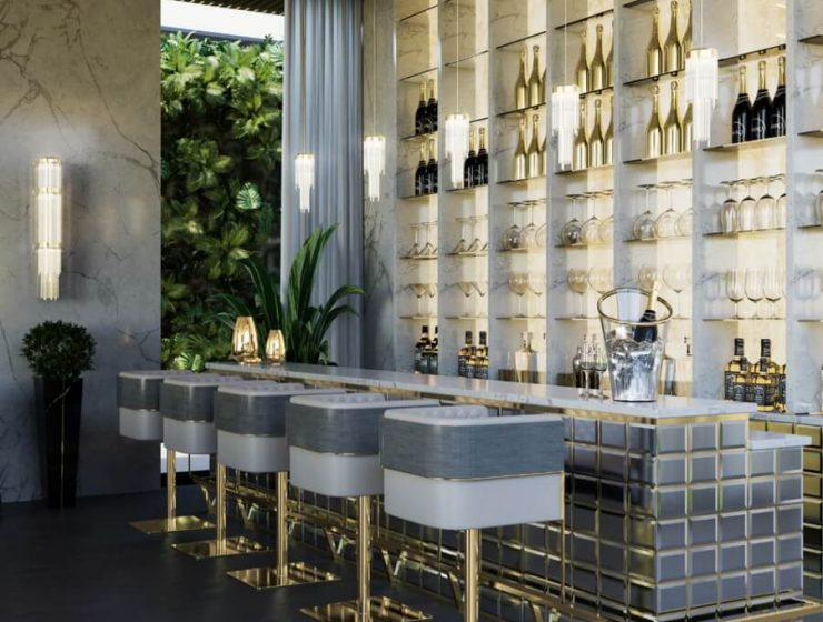 bar design kitchen design Interior Design Inspirations: Dining Room and Kitchen Design Interior Design Inspirations Dining Room and Kitchen Trends 6 740x560  Home Interior Design Inspirations Dining Room and Kitchen Trends 6 740x560