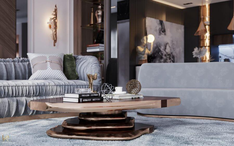 MODERN CLASSIC VILLA  Covet House x K.A Interior Design: A Opulent Modern Classic Villa In Riyadh MODERN CLASSIC VILLA 1