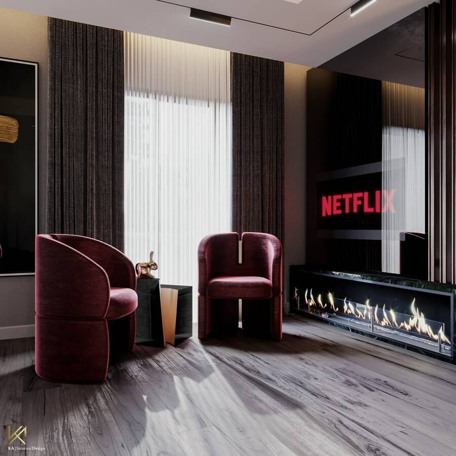 MODERN CLASSIC VILLA  Covet House x K.A Interior Design: A Opulent Modern Classic Villa In Riyadh MODERN CLASSIC VILLA 21