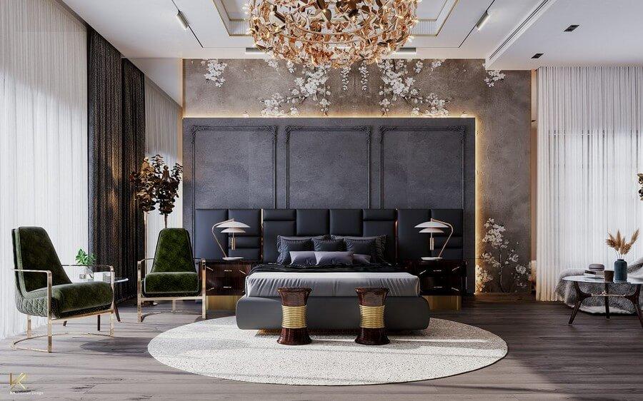 MODERN CLASSIC VILLA  Covet House x K.A Interior Design: A Opulent Modern Classic Villa In Riyadh MODERN CLASSIC VILLA 26
