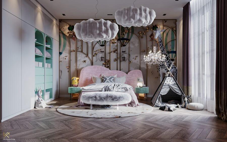 MODERN CLASSIC VILLA  Covet House x K.A Interior Design: A Opulent Modern Classic Villa In Riyadh MODERN CLASSIC VILLA 29