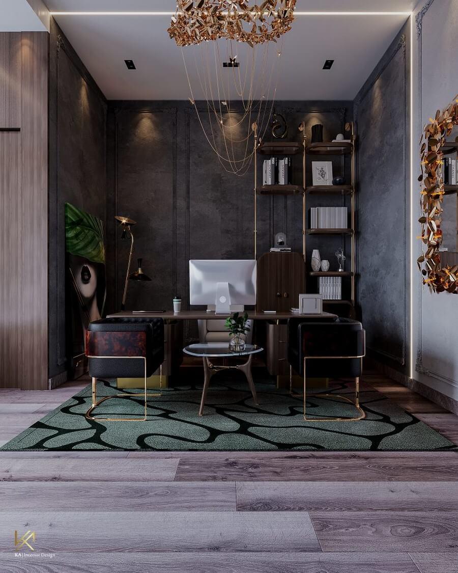 MODERN CLASSIC VILLA  Covet House x K.A Interior Design: A Opulent Modern Classic Villa In Riyadh MODERN CLASSIC VILLA 32