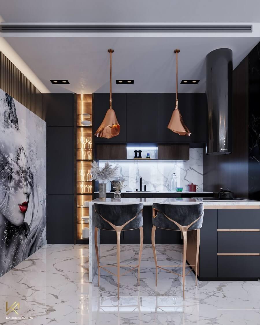 MODERN CLASSIC VILLA  Covet House x K.A Interior Design: A Opulent Modern Classic Villa In Riyadh MODERN CLASSIC VILLA 9