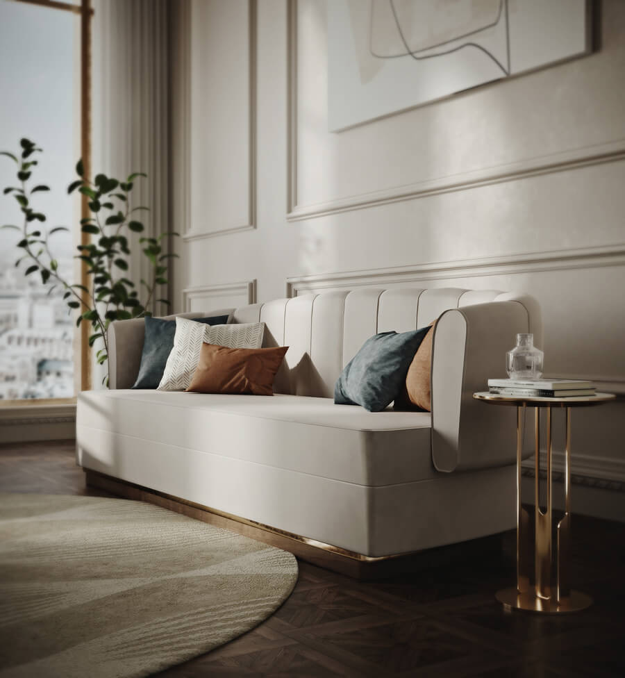 Daryna Osadcha And The Elegant Living Room