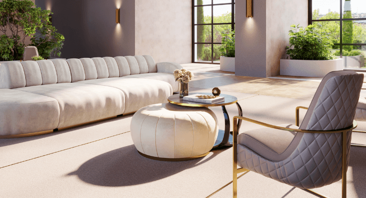 Luxury Hotel Lobby by Stuart CG Studio