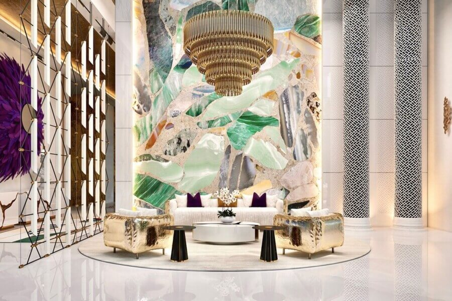THE PALACE: AN ECLECTIC OASIS IN SAUDI ARABIA