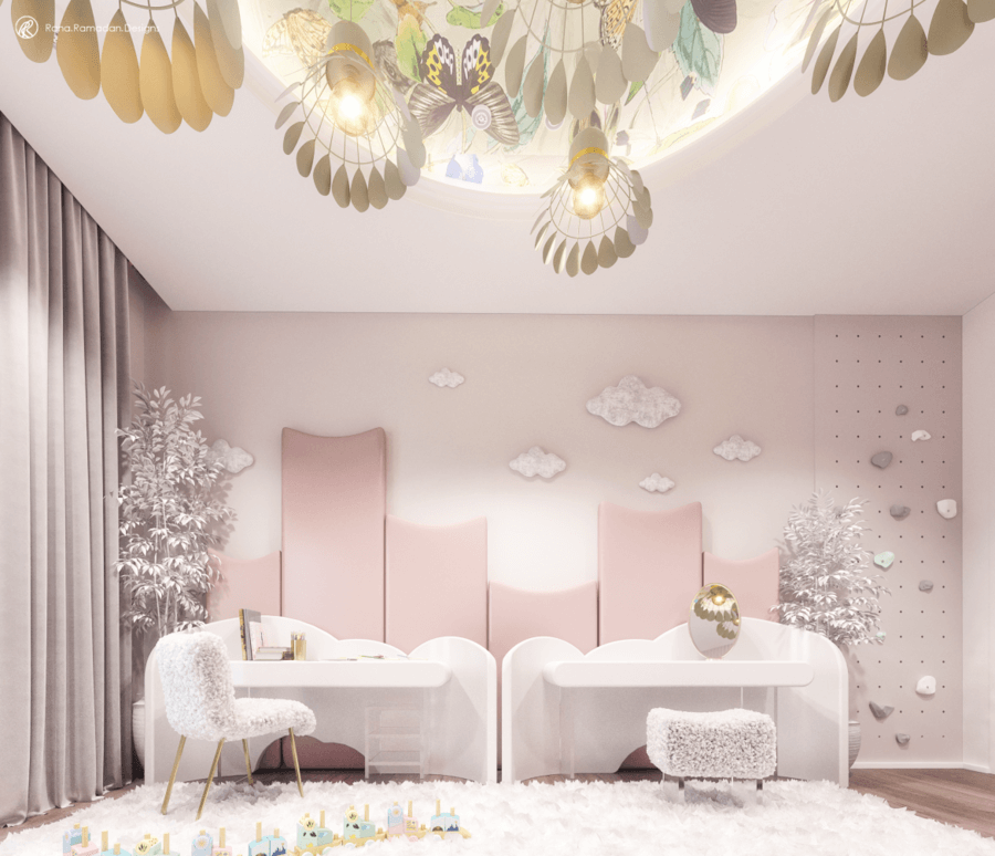 Enchanted Winter Garden by Rana Ramadan Designs