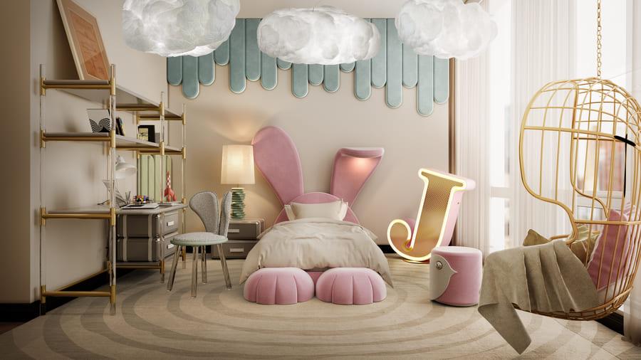 Modern Girls' Bedroom