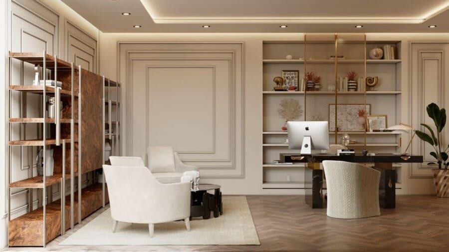 Nougat Desk by Caffe Latte Home